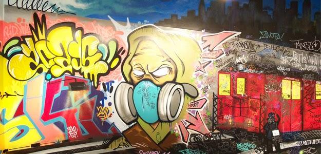 Graffiti Wall: Graffiti Street Art Nyc