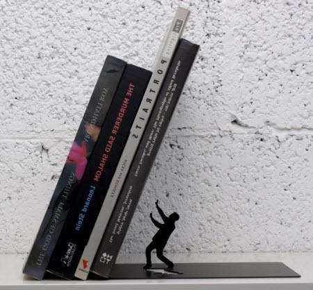 Un apoya-libros que engaña