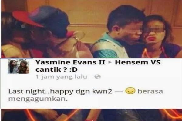 Aksi Panas Remaja Melayu Zaman Sekarang