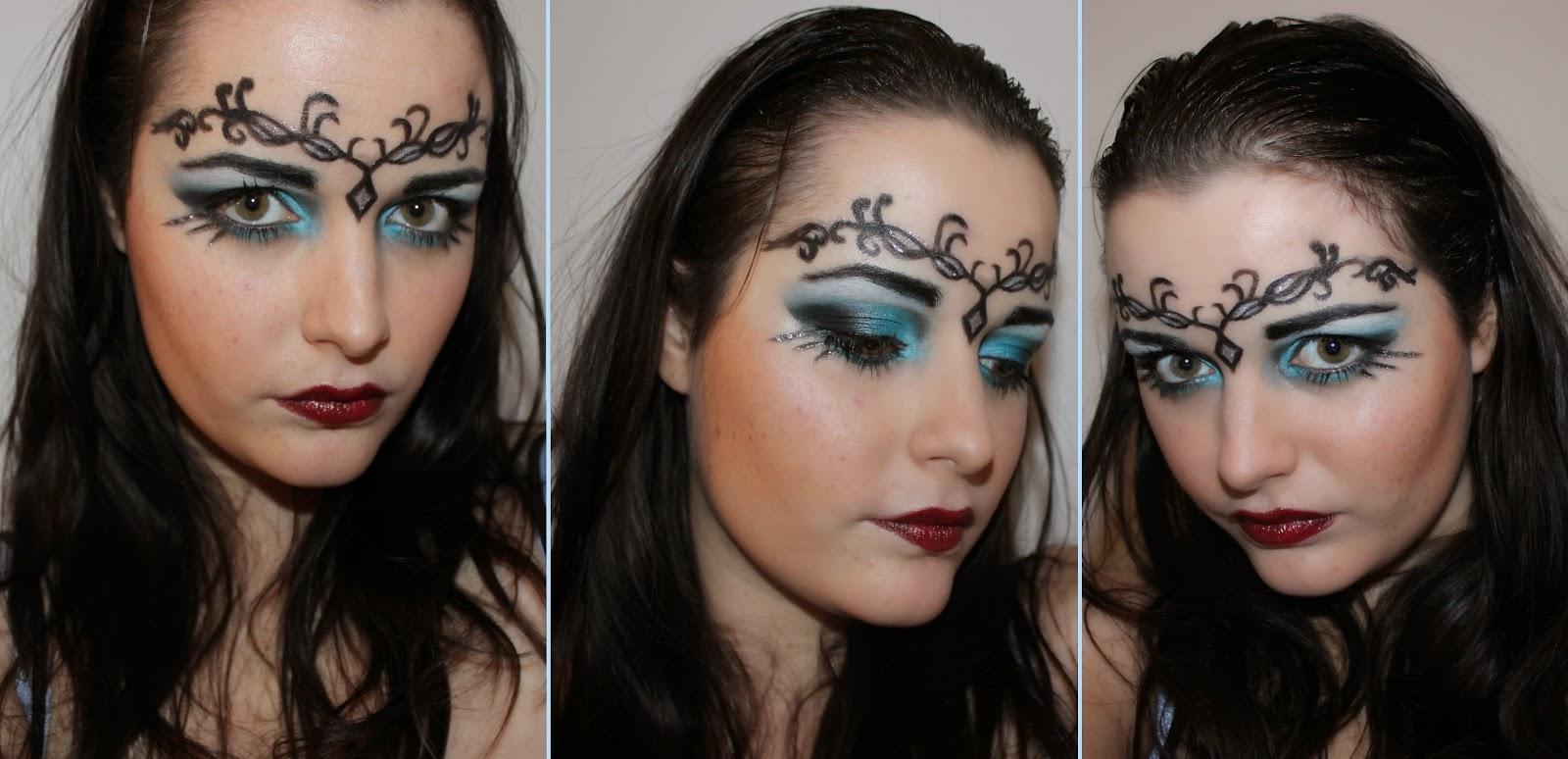 Maquillage Halloween Princesse Démoniaque Kristalle Make Up