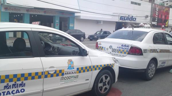 Resultado de imagem para taxi lotação em Aracaju