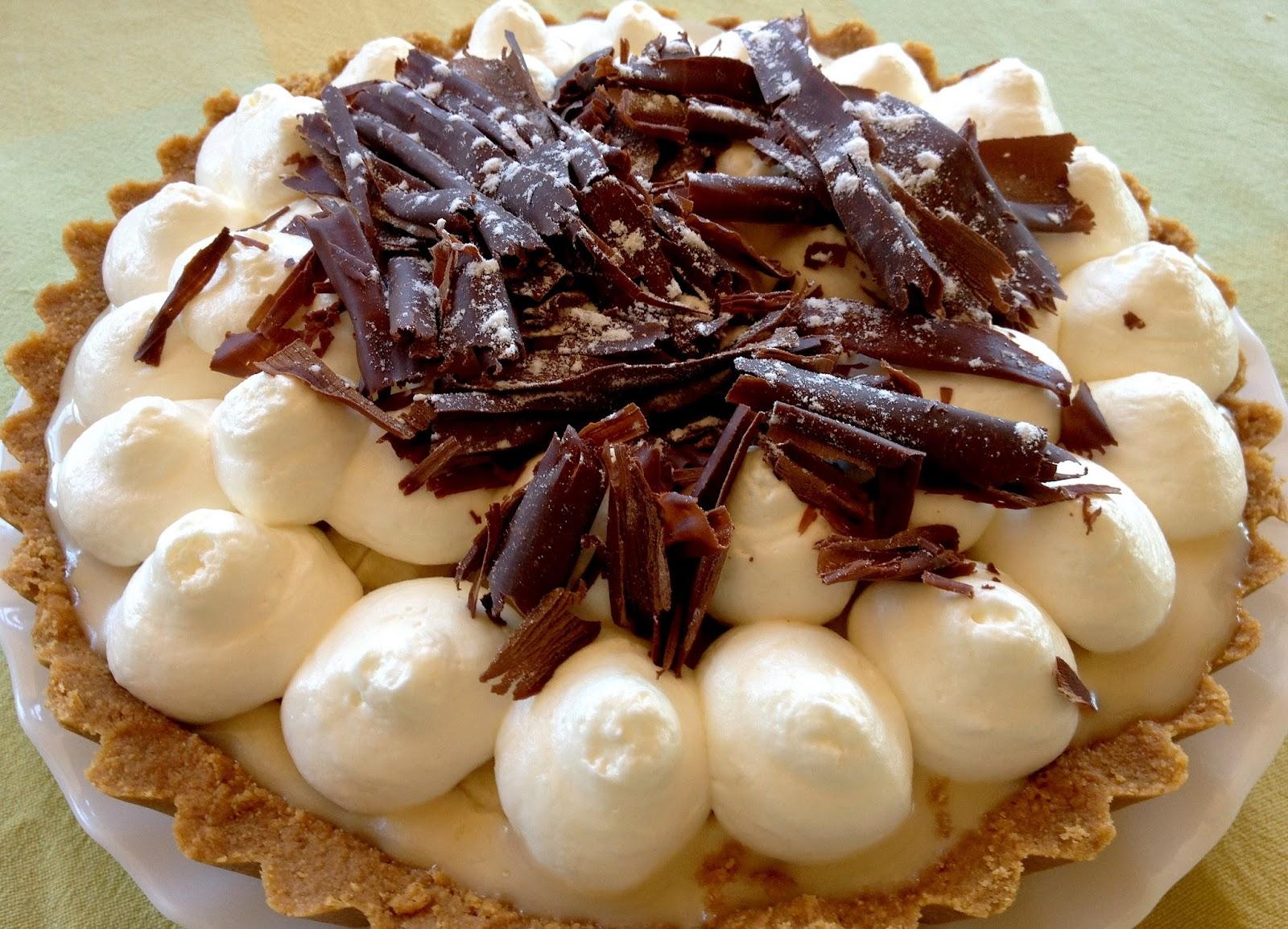 Banoffe Pie (tarta de plátano y toffee) sin lactosa