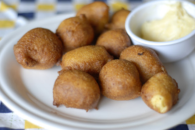 few weeks ago i had hushpuppies for the first time hushpuppies are ...