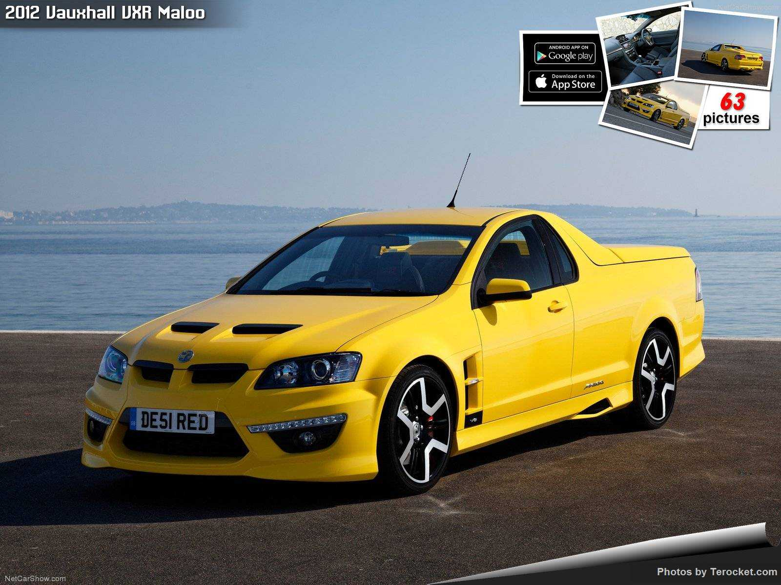 Hình ảnh xe ô tô Vauxhall VXR Maloo 2012 & nội ngoại thất