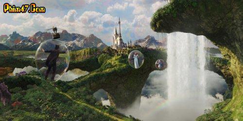 Xem phim Lạc Vào Xứ Oz Vĩ Đại Và Quyền Năng