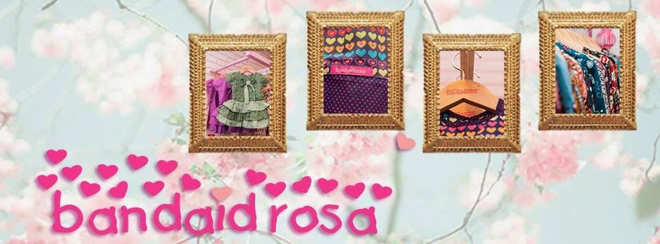 Bandaid Rosa- Retrô, Vintage, Romântica mas totalmente atual!