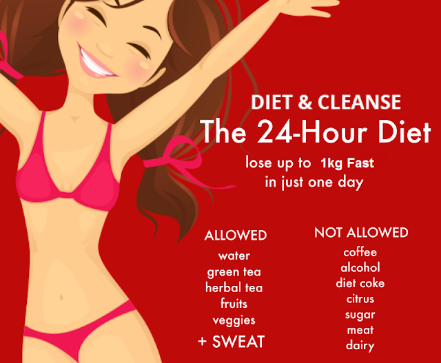 24 Hours Diet to Lose 1kg Fast | DIETING
