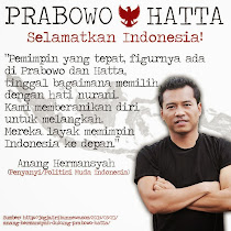 saya pilih Prabowo - Hatta