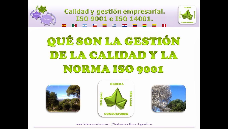 Definición de calidad e ISO 9001