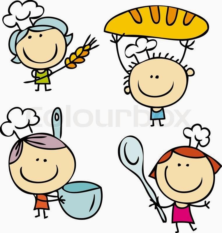 Здоровое питание для детей -Привлекайте ребенка к процессу приготовления еды