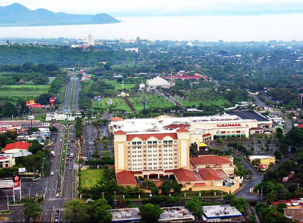 Managua Nicaragua  city images : Manágua foi destruída duas vezes, em 1931 e em 1972, por terremotos.