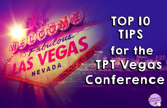 Tips for Teacher Bloggers from the TPT Vegas Conference by Reading and Writing Redhead