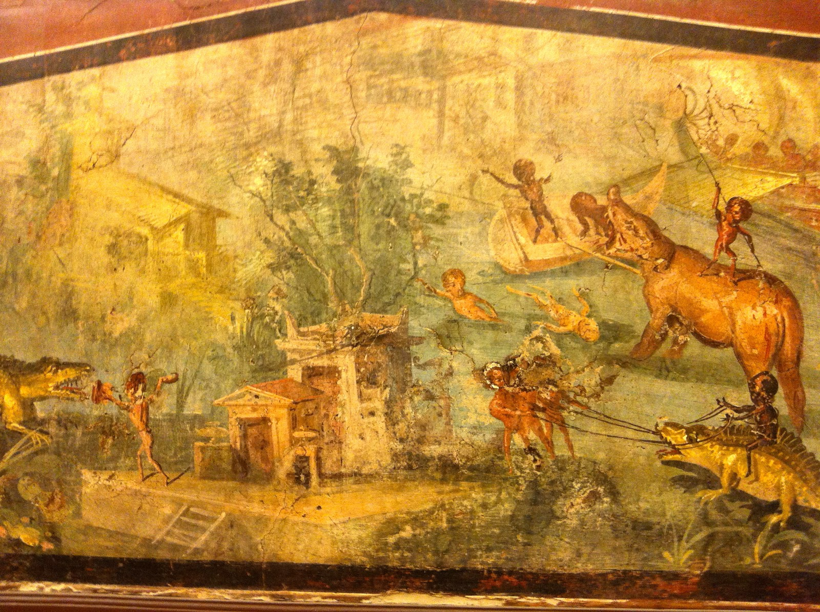 A Moveable Beast Cornered In Paris Pompeii And Herculaneum