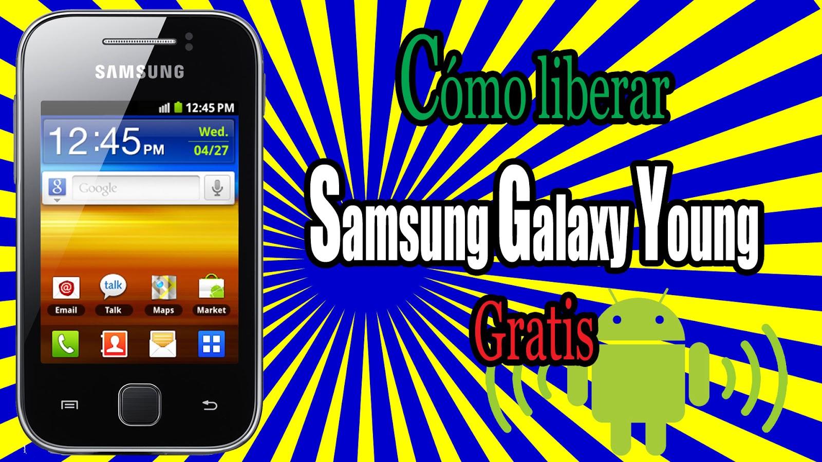 Portada de la entrada de cómo liberar gratis un Samsung Galaxy Young