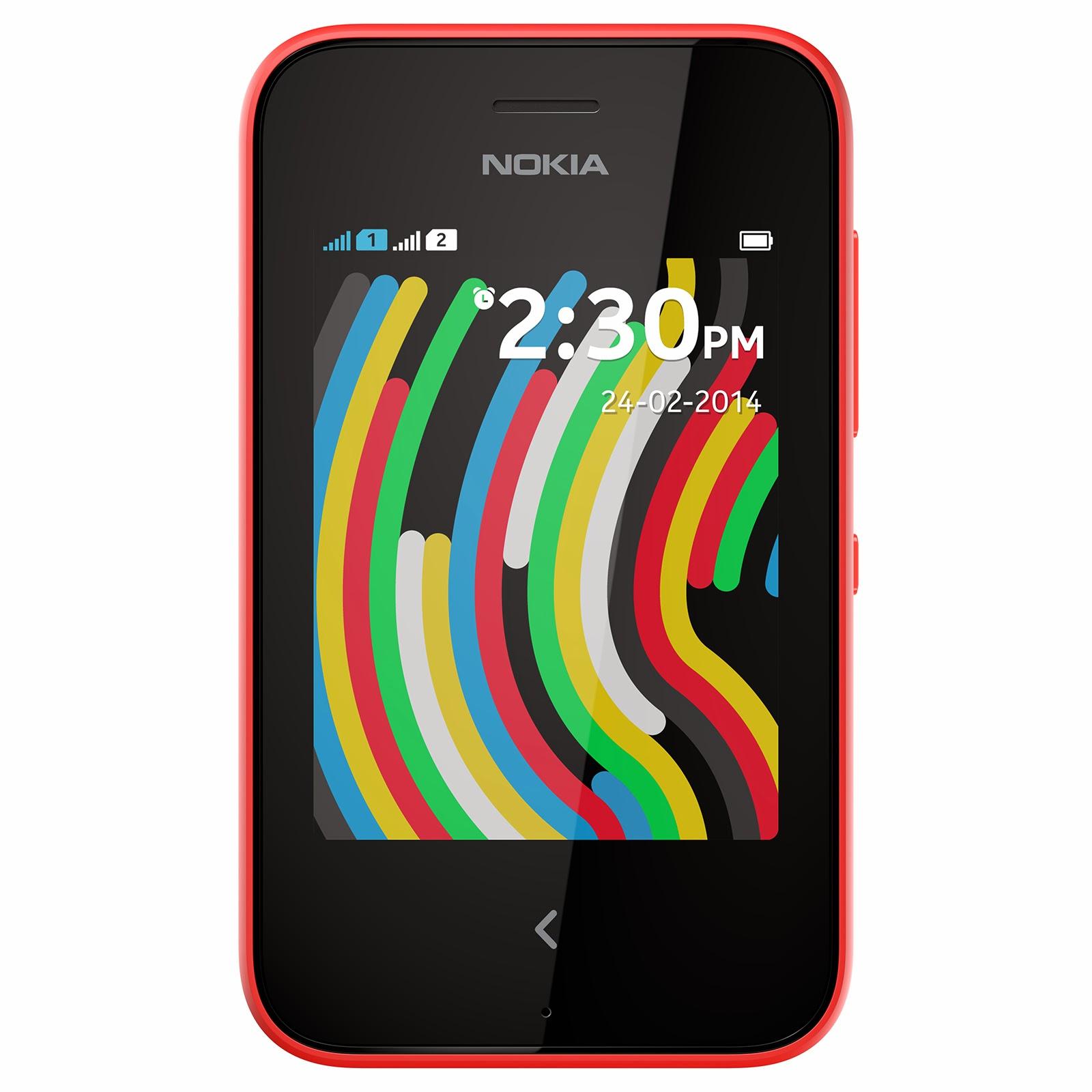 The Nokia Asha 230 is a feature phone which runs Nokia's Asha platform