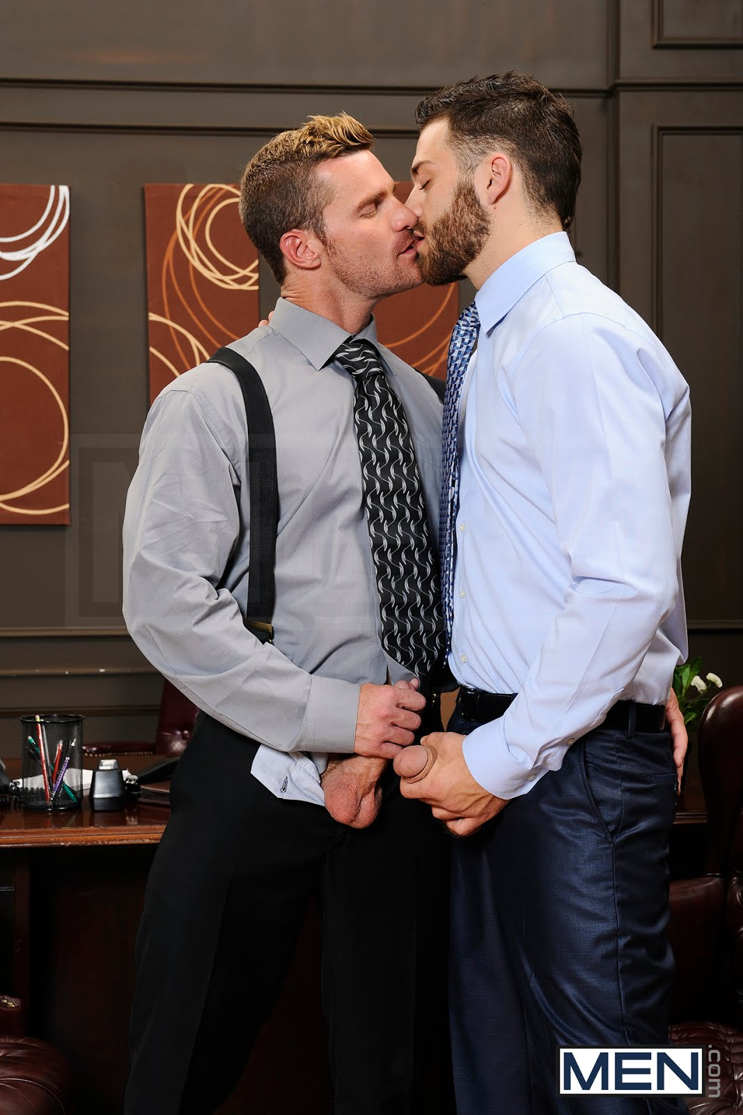 office gay porn