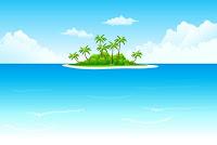Allemand sur une île déserte