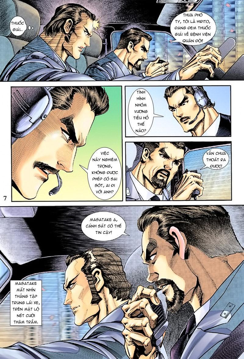 Tân Tác Long Hổ Môn chap 165 - Trang 7