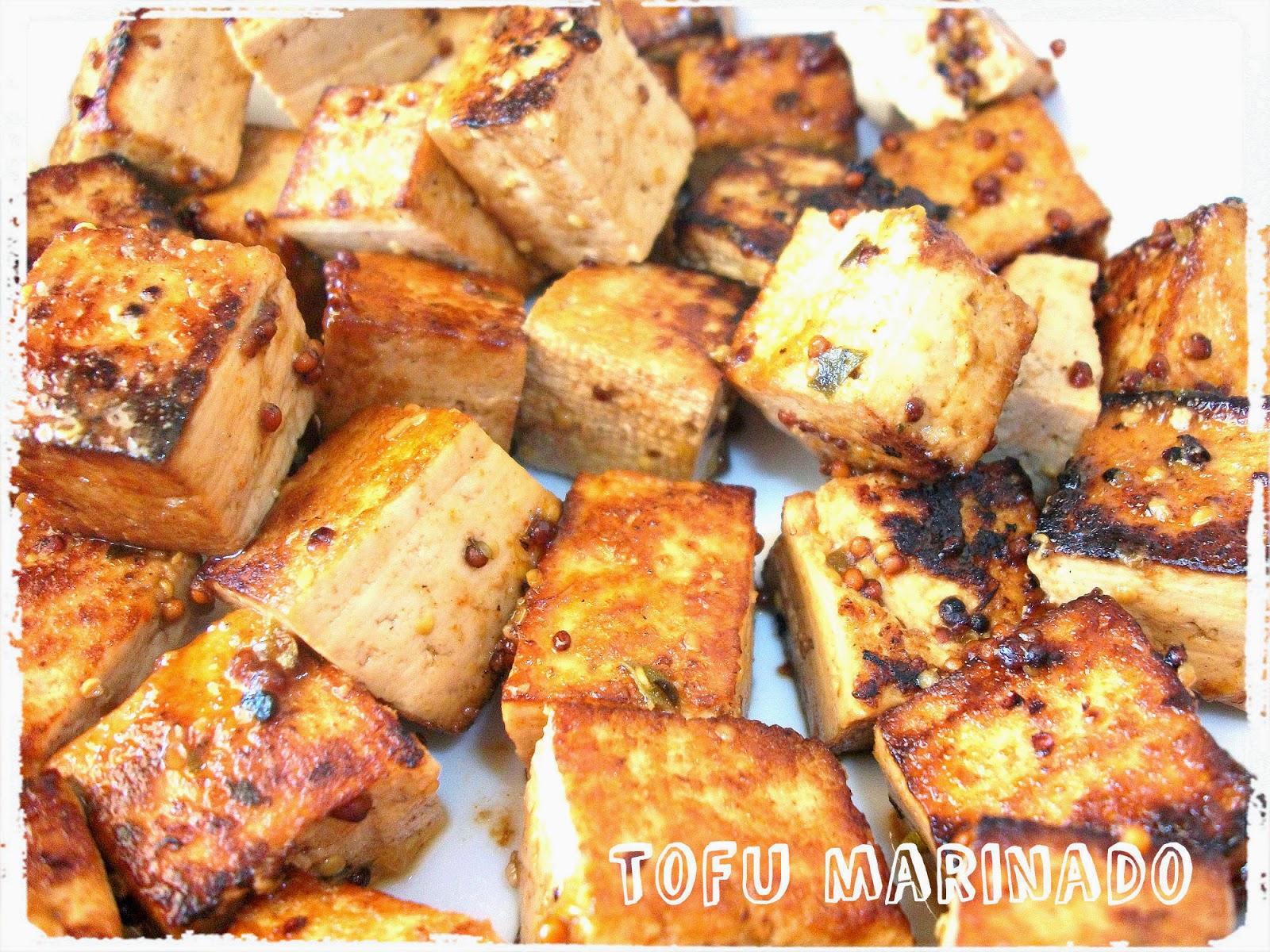 Dime que comes el tofu no sabe a nada receta y cosas - Como se cocina el tofu ...