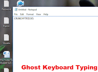 Type Automatically In Notepad