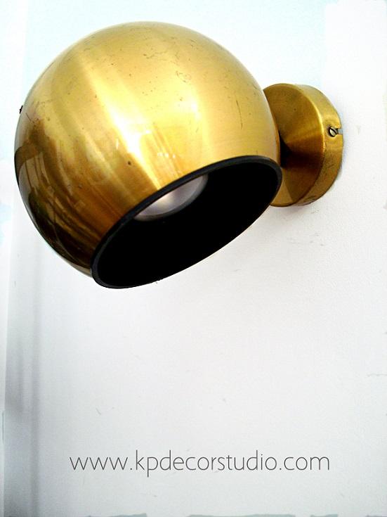 Apliques Baño Vintage:Tienda Vintage Online: Aplique vintage dorado FASE años 70 ** Vintage