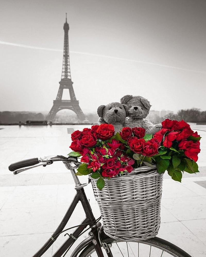 С днем рождения из парижа