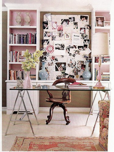 Inspire bohemia home offices and craft rooms part ii for Office interior design inspiration