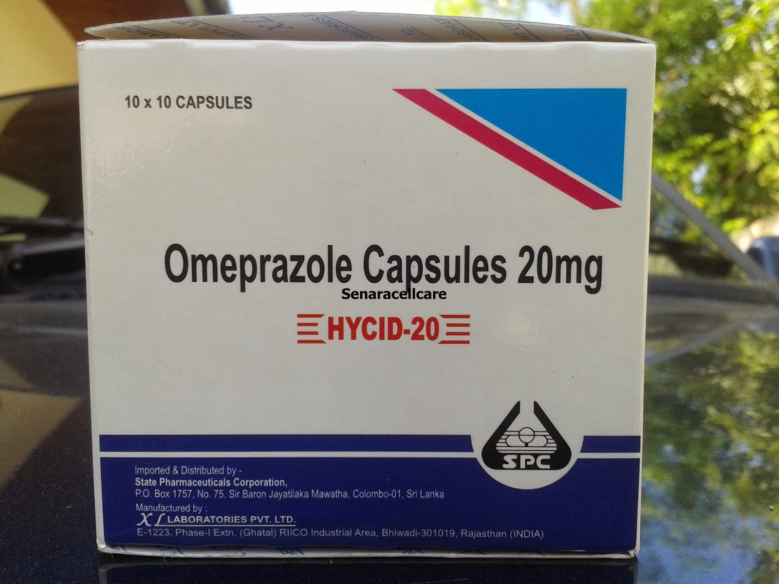 20mg omeprazole every other day