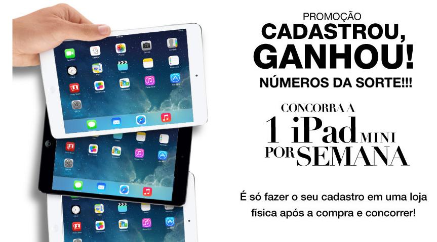 Participar nova promoção MMartan 2014 concorrer iPad Mini