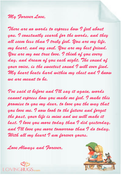 Pictures Of Romantic Love Letters
