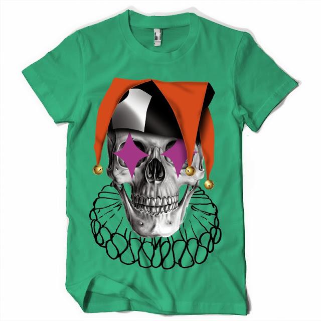 skull tshirt