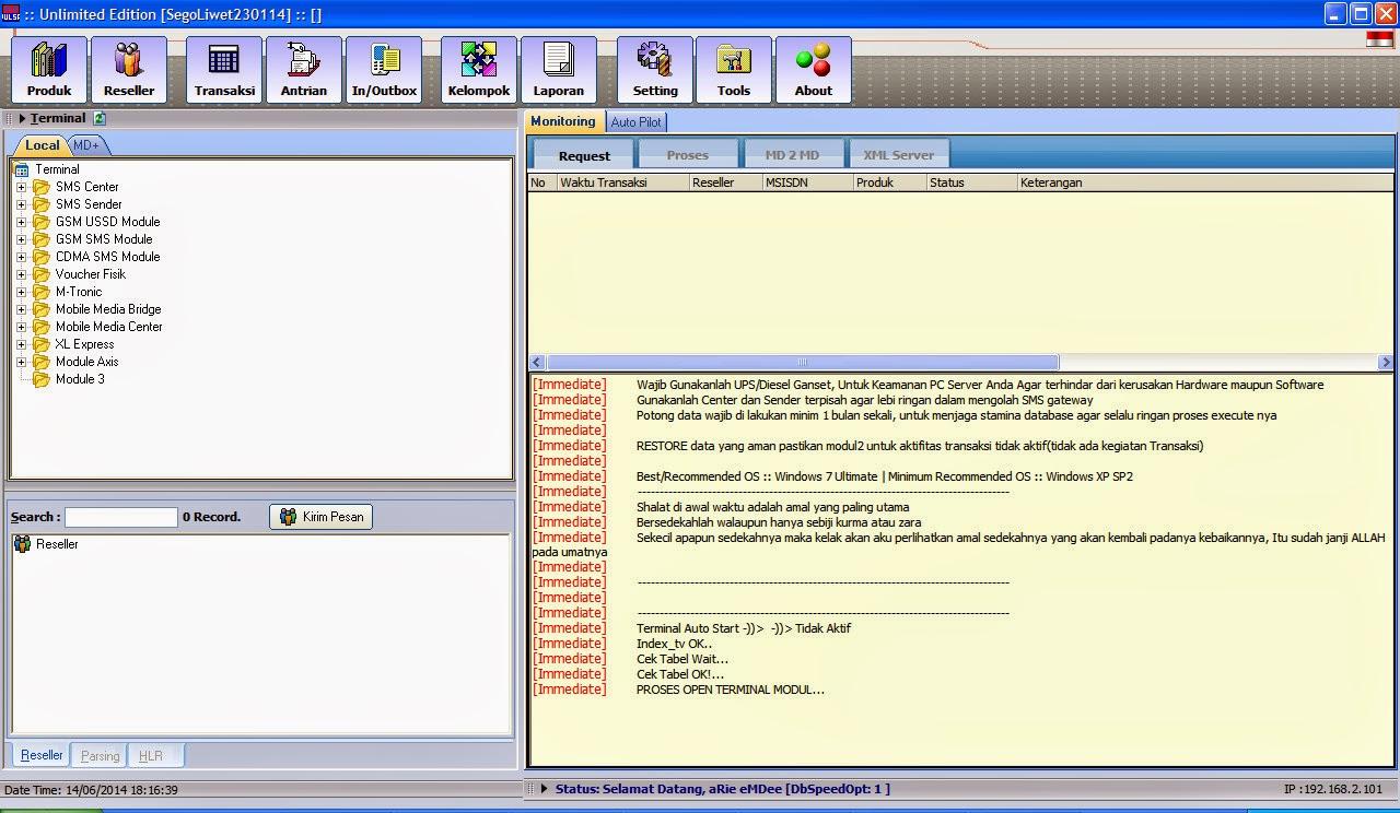 Image Result For Server Terminal Pulsa