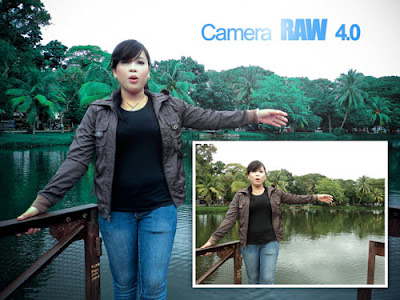 Tutorial Photoshop - Tone Warna dengan Camera RAW 4.0