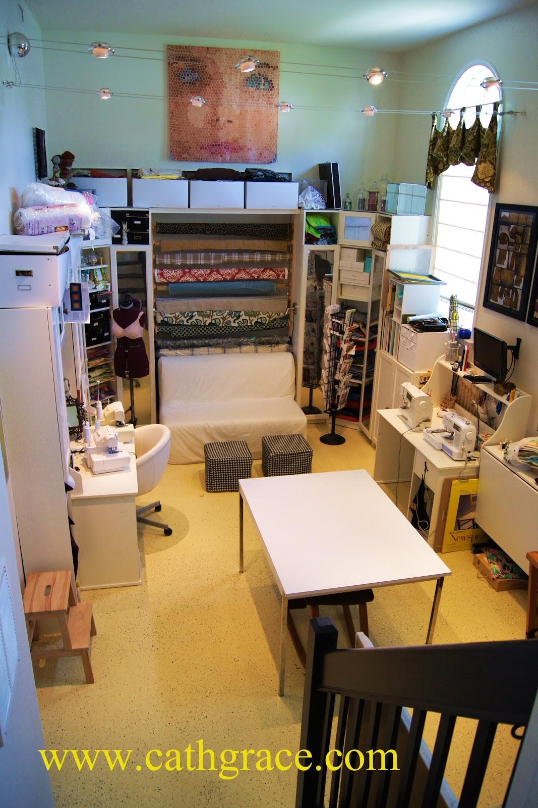 Sewing Room Craft Studio: sewing+room+craft+studio My,My Sewing Room   Craft Studio   cathgrace
