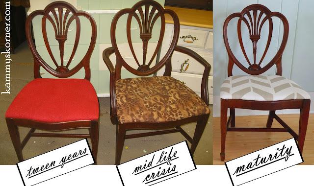 Kammy S Korner Lyre Back Chairs Through Tweens Midlife