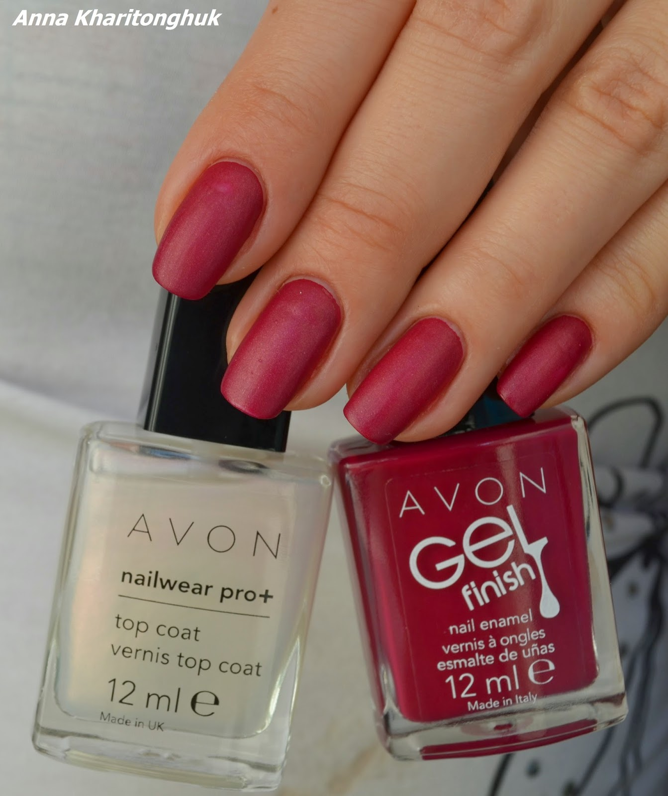 Avon Gel Finish Very Bery