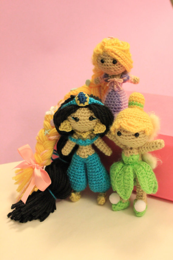 Amigurumi Disney Princess : Varietats: Disney Princess by Crochet