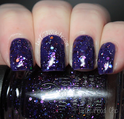 china glaze cheers holiday review swatches brand spankin new year mix and mingle