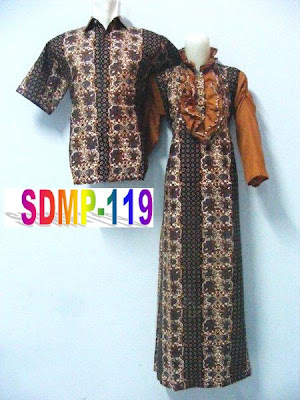 DRESS KOMBINASI BATIK PASANGAN