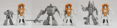 iGear Red Baron, Stinger, Rocky and Busta Transformers 3rd Party Figure (size comparison)