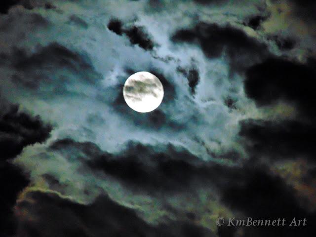 Moon photo 07 KmBennettArt