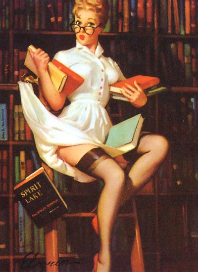 Vintage reader