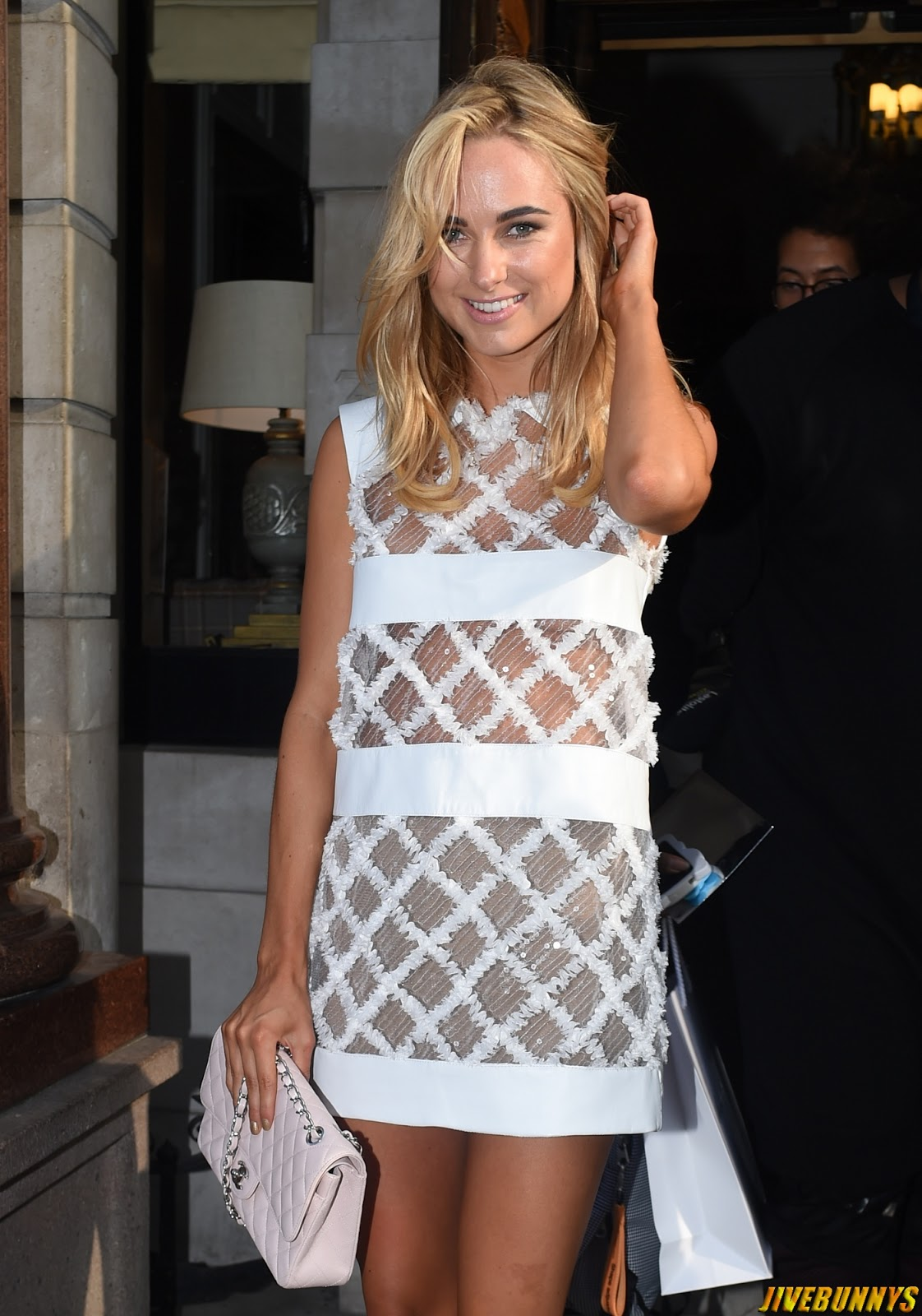 Kimberley Garner @ Busardi Fashion show for London Fashion Week - 12/09/2014