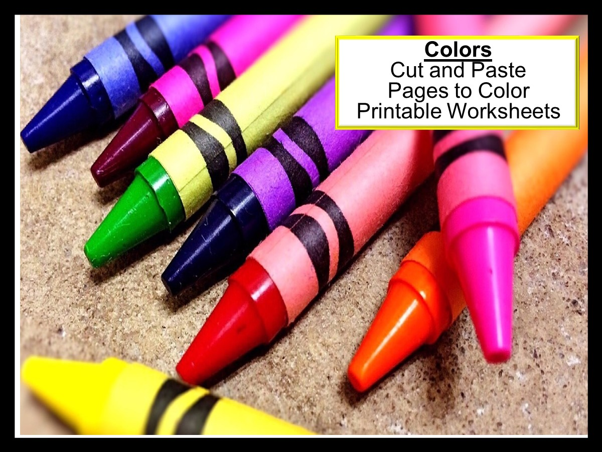 Teaching Colors Printable Worksheets