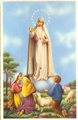 imagen de la Virgen retro