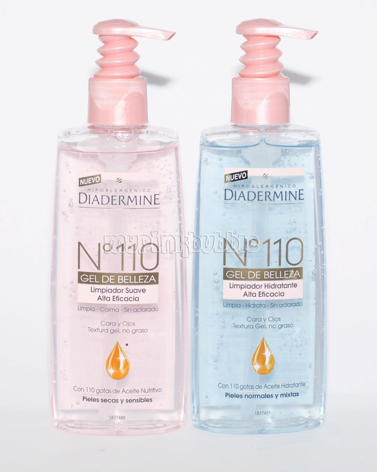 Diadermine 110 gel de belleza