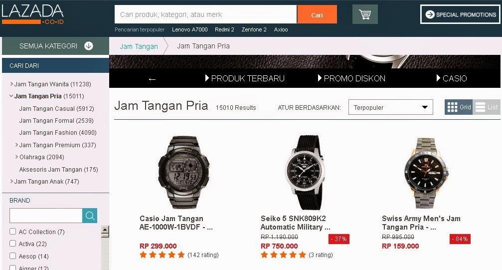 koleksi Jam Tangan di Toko Online Terpercaya