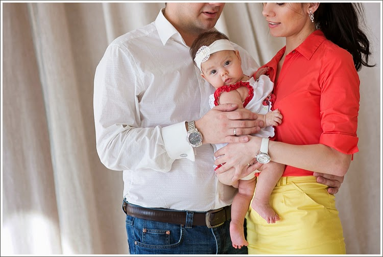 Семейная съемка - Игорь, Оля и Алина. Первовесеннее.