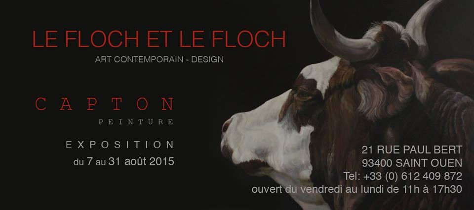 PUCES DE SAINT OUEN : exposition personnelle à la galerie le floch et le floch