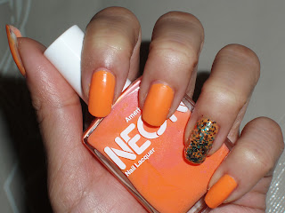 NOTD: American Apparel Neon Coral